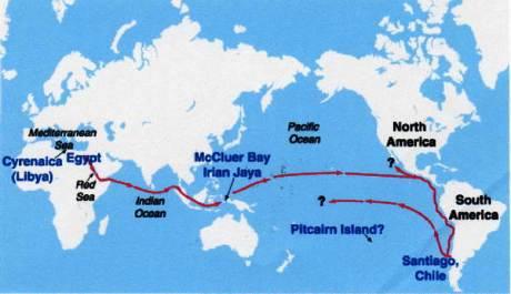 Llegaron los Egipcios hasta Sudamérica?