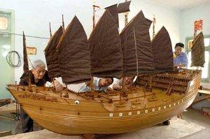 barco de Zhen He